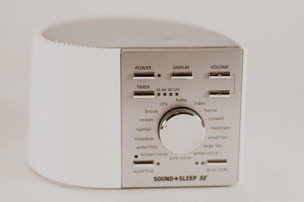 A sound + sleep sleep machine