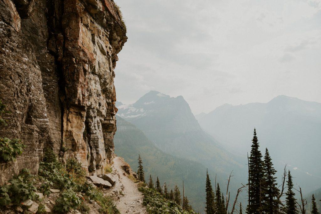 a photo of glacier national park