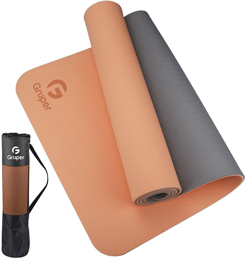 a yoga mat