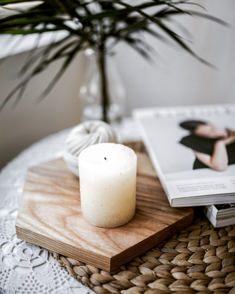 diy organic candle by healthfully whole