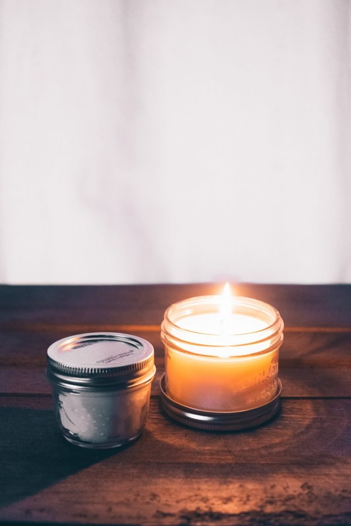 A handmade organic soy candle recipe