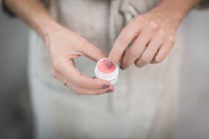 DIY Blushing Lip Balm By Healthfully Whole