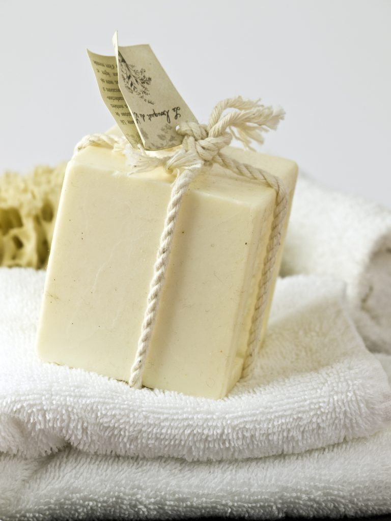 Simple and soothing lotion bars by healthfully whole