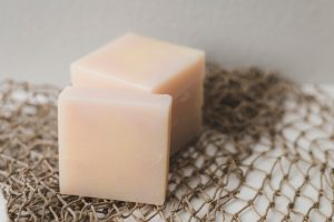 DIY handmade organic lotion bars